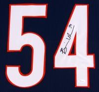 Brian Urlacher Signed Bears 35x43 Custom Framed Jersey (JSA COA) at PristineAuction.com
