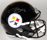 LeVeon Bell Signed Steelers Full-Size Speed Helmet (JSA COA)