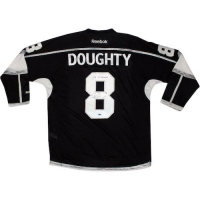 "Drew Doughty Signed Los Angeles Kings 2014 Stanley Cup Jersey Inscribed ""14 SC Champs"" (Steiner COA) at PristineAuction.com"