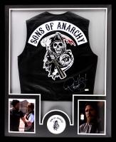 "Ryan Hurst Signed ""Sons of Anarchy"" 34x42 Custom Framed Vest (Radtke COA)"