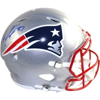Rob Gronkowski Signed Patriots Full-Size Authentic On-Field Helmet (Steiner COA) at PristineAuction.com