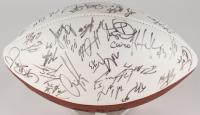 Cardinals NFL Football Signed by (57) with Pat Tillman, Terry Hardy, Simeon Rice, Jabari Issa (JSA ALOA)