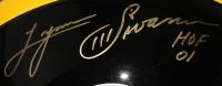 "Hines Ward & Lynn Swann Signed Steelers Full-Size Helmet Inscribed ""HOF 01"" (JSA) at PristineAuction.com"