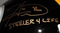 "Lynn Swann & Hines Ward Signed Steelers Full-Size Helmet Inscribed ""HOF 01"" & "" Steelers 4 Life"" (JSA COA) at PristineAuction.com"