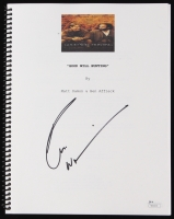 "Robin Williams Signed ""Good Will Hunting"" Full Movie Script (JSA COA)"