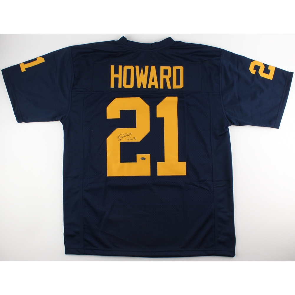 Desmond Howard Signed Michigan Wolverines Jersey Inscribed