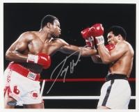 Larry Holmes Signed 8x10 Photo vs. Muhammad Ali (Schwartz COA)