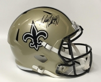 Adrian Peterson Signed Saints Full-Size Speed Helmet (Fanatics) at PristineAuction.com