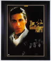 "Al Pacino Signed ""The Godfather Part II"" 35.5"" x 43.5"" Custom Framed Movie Poster (PSA COA) at PristineAuction.com"