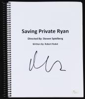 """Matt Damon Signed """"Saving Private Ryan"""" Full Script (JSA COA)"""