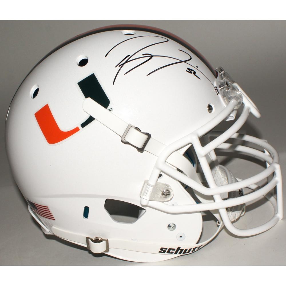 Amazon.com: Ray Lewis Autographed Miami Hurricanes Camo