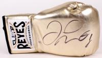 Floyd Mayweather Jr. Signed Cleto Reyes Boxing Glove (Beckett COA)