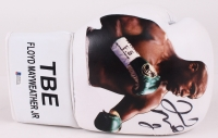 Floyd Mayweather Jr. Signed TBE Photo Boxing Glove (Beckett COA)