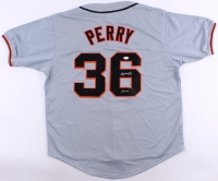 """Gaylord Perry Signed Jersey Inscribed """"HOF - 91"""" (JSA COA) at PristineAuction.com"""