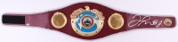 Floyd Mayweather Jr. Signed WBO Heavyweight Championship Belt (Becektt COA)