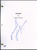 """Mel Gibson Signed """"Braveheart"""" Full Movie Script (PSA COA)"""