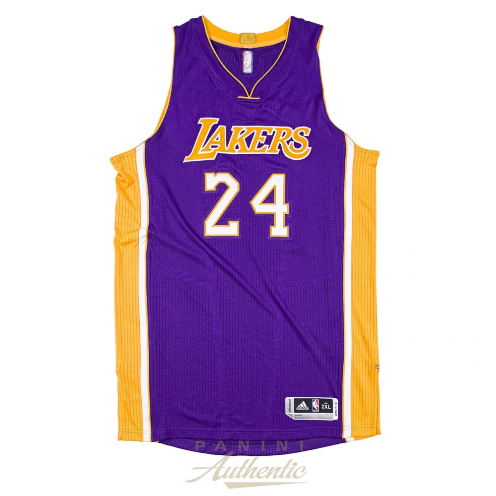 d19280ca7 Kobe Bryant Signed LE Lakers Authentic Adidas Jersey Inscribed