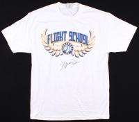 Michael Jordan Signed Youth Flight School T-Shirt (UDA COA)