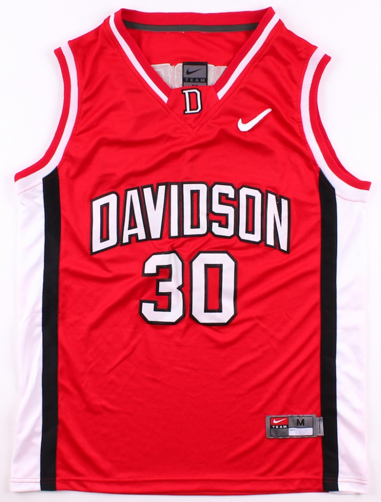 c3923870e1dd Stephen Curry Signed Davidson Wildcats Jersey (JSA ALOA) at  PristineAuction.com