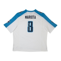 Marcus Mariota Signed Tennessee Titans Jersey (UDA COA)