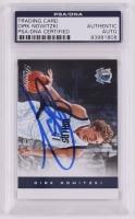 Dirk Nowitzki Signed 2012-13 Prestige #108 (PSA Encapsulated)