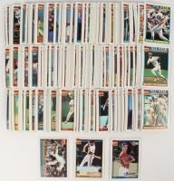 1991 Topps Complete Set of (792) Baseball Cards with #333 Chipper Jones, #570 Barry Bonds, #1 Nolan Ryan