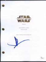 """J.J. Abrams Signed """"Star Wars: The Force Awakens"""" Full Movie Script (JSA COA)"""