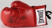 Mike Tyson & James Douglas Signed Everlast Boxing Glove (JSA COA)