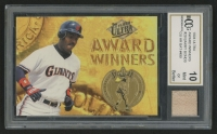 1994 Ultra Award Winners #20 Barry Bonds with Game-Used Bat (BCCG 10)