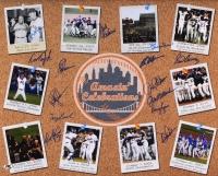 "Mets ""Amazin' Celebrations"" 16x20 Photo Signed by (14) with Bud Harrelson, Wally Backman, Ed Hearn, Terry Leach, Dave Magadan, Sid Fernandez (MAB Hologram)"