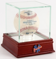 Authentic Game-Used New York Yankees OML Baseball from April 13th, 2017 with High Quality Display Case (Steiner LOA)