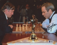 Garry Kasparov Signed 8x10 Photo (Beckett COA)