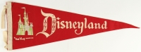 Vintage 1960's Disneyland Pennant at PristineAuction.com