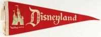 Vintage 1960's Disneyland Pennant at PristineAuction.com