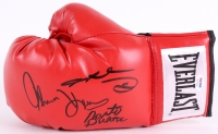 Sugar Ray Leonard, Roberto Duran & Tommy Hearns Signed Everlast Boxing Glove (PSA COA)