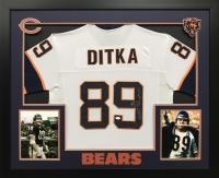 "Mike Ditka Signed Bears 36x44 Custom Framed Jersey Inscribed ""HOF 88"" (JSA COA)"