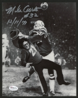 "Mike Curtis Signed Colts 8x10 Photo Inscribed ""12/11/71"" (JSA SOA)"