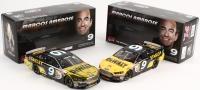 Lot of (2) Marcos Ambrose NASCAR 1:24 Action Die Cast Cars with (1) Signed LE #9 DeWalt 2014 Fusion (1) LE #9 DeWalt 2014 Fusion Chrome (#1/121) & (1/96) (Action COA)