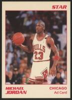 1990 Star  Michael Jordan Chicago Bulls AD White Border
