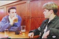 "Ben Affleck & Matt Damon Dual Signed ""Good Will Hunting"" 12x18 Photo (PSA COA)"