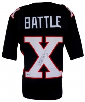 "Bill Goldberg Signed ""The Longest Yard"" Mean Machine Battle X Jersey (Beckett COA)"