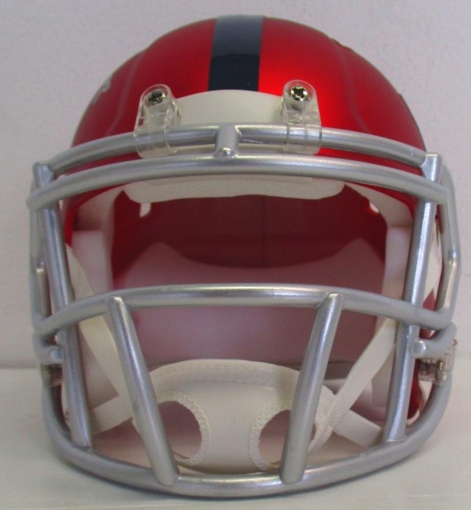 Evan Engram Signed Giants Blaze Mini-Helmet (JSA COA) at PristineAuction.com e8899a537