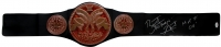 "Bret ""The Hitman"" Hart Signed Tag Team Championship Belt Inscribed ""HOFF 06"" (JSA COA)"