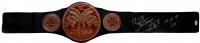 "Bret ""The Hitman"" Hart Signed Tag Team Championship Belt Inscribed ""HOFF 06"" (JSA COA)"