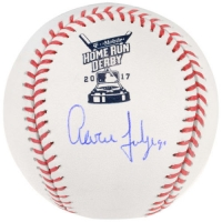 Aaron Judge Signed 2017 Home Run Derby Baseball (Fanatics Hologram) at PristineAuction.com