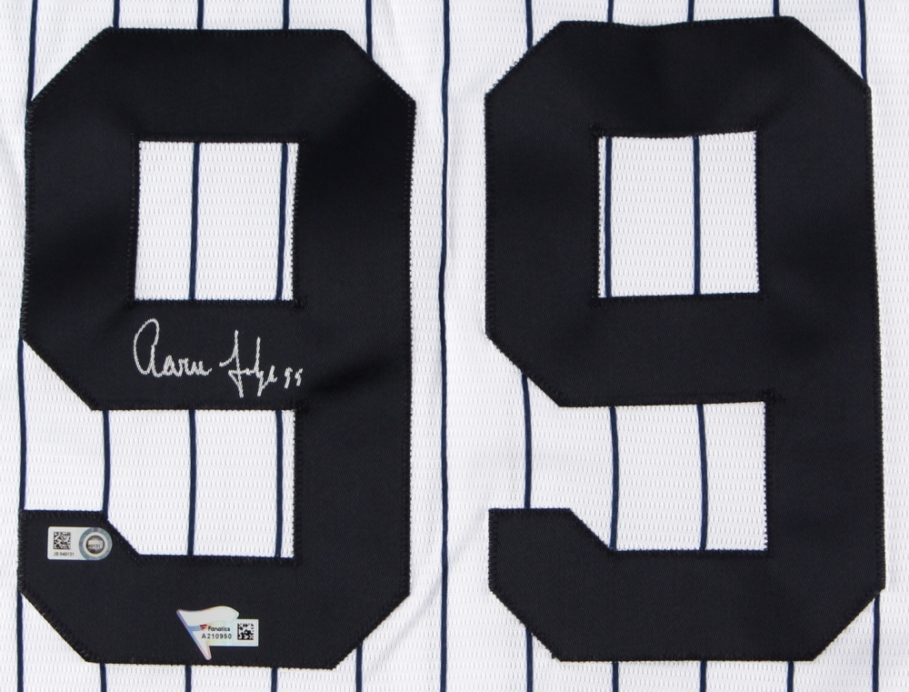 9b616bb3d Aaron Judge Signed Yankees Authentic Majestic Cool Base Jersey (MLB  Hologram   Fanatics COA)