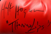 "Hulk Hogan Signed Everlast Boxing Glove Inscribed ""Thunder Lips"" (JSA COA) at PristineAuction.com"