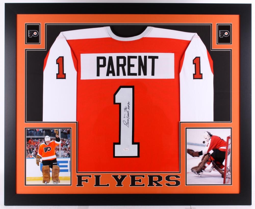 Bernie Parent Signed Flyers 35