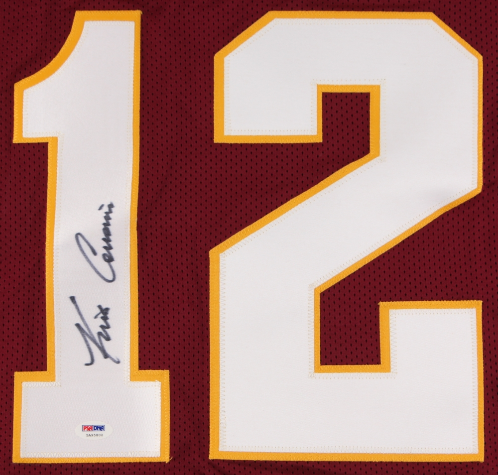 kirk cousins signed jersey