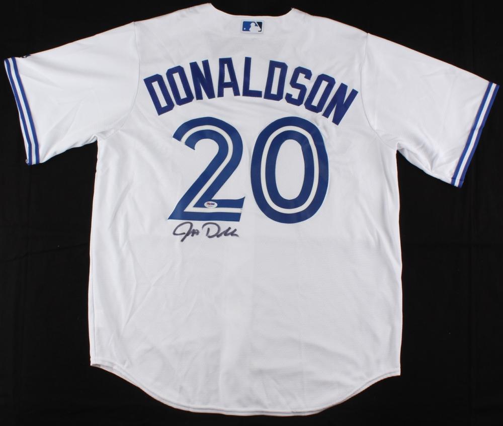 e6c02df9 Josh Donaldson Signed Blue Jays Jersey (PSA COA) at PristineAuction.com